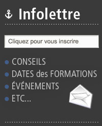 Inscription à l'infolettre